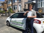 George Salisbury passed with Belt Up Driving School