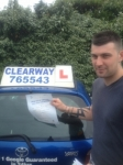 Alex Neal passed with Clearway Driving School