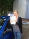 Eleanor Francis Wilson passed with Clearway Driving School