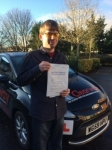 Adam Young passed with Clearway Driving School