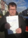 Alan Bourke passed with Clearway Driving School