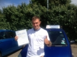 Alexander McColm passed with Clearway Driving School