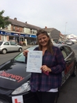 Amanda Finn passed with Clearway Driving School