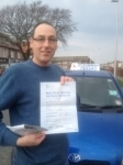 Andrew Swift passed with Clearway Driving School