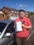 Anthony Billington passed with Clearway Driving School