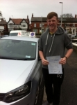 Priesley Duffy passed with Clearway Driving School