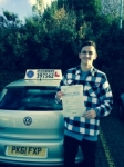 Ben Moore passed with Clearway Driving School