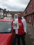 Bernard Richardson passed with Clearway Driving School