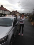 Bianca Pederson passed with Clearway Driving School
