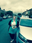 Chariss Barraclough passed with Clearway Driving School