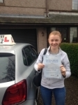 Charlotte Haynes passed with Clearway Driving School