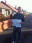 Chris Benson passed with Clearway Driving School