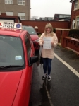 Claire Haddock passed with Clearway Driving School