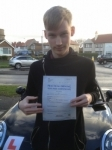 Connor Sherrington passed with Clearway Driving School