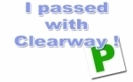 Callum Barrow passed with Clearway Driving School