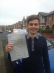 Daniel Staines passed with Clearway Driving School