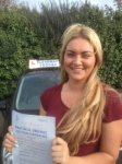 Danielle Naylor passed with Clearway Driving School