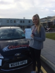 Danni Garrett passed with Clearway Driving School