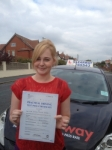 Danni Jones passed with Clearway Driving School