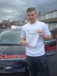 Danny Kerr passed with Clearway Driving School