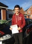 Darragh Twist passed with Clearway Driving School