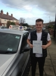 Declan Penn passed with Clearway Driving School