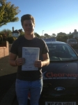 Dewi Morgan passed with Clearway Driving School