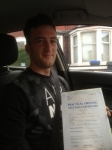 Donovan Leith passed with Clearway Driving School