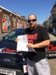 Eddie Bennett passed with Clearway Driving School