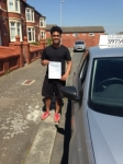 Eddie Fakir passed with Clearway Driving School
