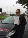EllieTaylor passed with Clearway Driving School