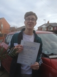 Elliott Knowles passed with Clearway Driving School