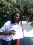 Errol McKenzie passed with Clearway Driving School
