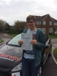 George Waller passed with Clearway Driving School
