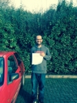 Haider passed with Clearway Driving School