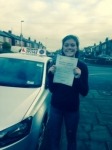 Hannah McKillion passed with Clearway Driving School