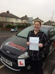 Helen Docherty passed with Clearway Driving School
