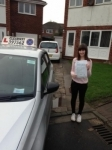Abbie Carr passed with Clearway Driving School