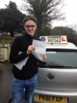 Jake Kerr passed with Clearway Driving School