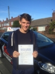 Jake Thomas passed with Clearway Driving School
