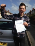 James Connolly passed with Clearway Driving School