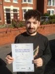 Jamie Drazen passed with Clearway Driving School