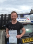 Jamie Roskell passed with Clearway Driving School