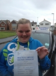 Joanne Shakespeare passed with Clearway Driving School