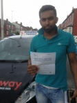 John Marshall passed with Clearway Driving School