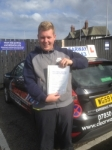 John Redfern passed with Clearway Driving School