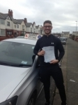 Jordan Elston passed with Clearway Driving School