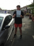 Josh Buchanan passed with Clearway Driving School