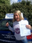 Joanna Wojtasik passed with Clearway Driving School