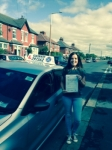 Karen Winstanley passed with Clearway Driving School